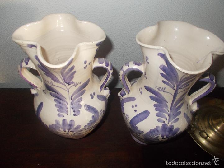 Antigüedades: Pareja de jarras cerámica de la provincia de Jaén - Foto 5 - 59437895