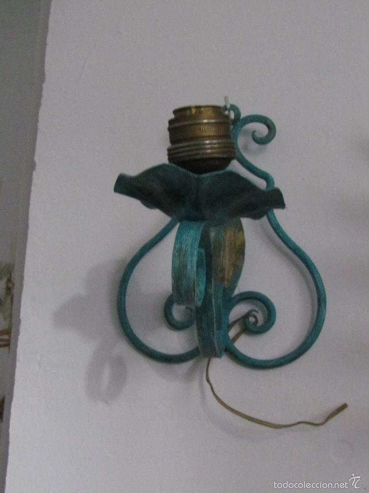 Antigüedades: Aplique hierro - Foto 2 - 59461815