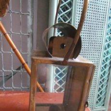Antigüedades: FAROL DE LATÓN. Lote 59463300