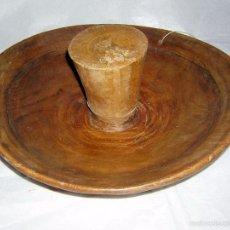 Antigüedades: TAJADERA ANTIGUA DE TEXILEIRO ASTURIANO. Lote 59505583