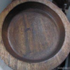 Antigüedades: CUENCO DE MADERA. Lote 59543075