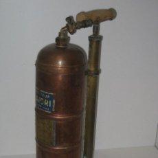 Sulfatadora cobre antigua