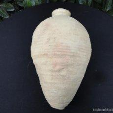 Antigüedades: ALFARERÍA ANDALUZA: BOTIJA PERULERA DE TRIANA S. XVI. Lote 59613995