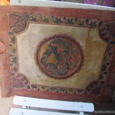 Antigüedades: CUERO REPUJADO. Lote 59614715