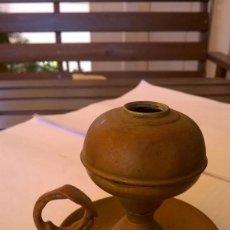 Antigüedades: ANTIGUA LAMPARA DE ACEITE. Lote 59617655