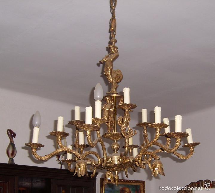 Antigua y preciosa lampara de techo parece de comprar - Venta de lamparas antiguas ...
