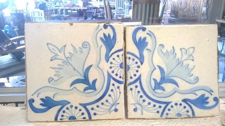 Antiguos azulejos con cenefas azules comprar azulejos - Azulejos clasicos ...