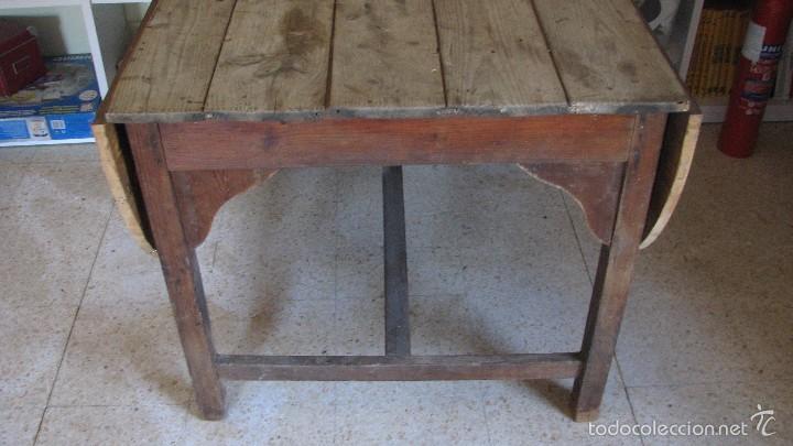 Antigüedades: Mesa rústica. - Foto 2 - 118865331