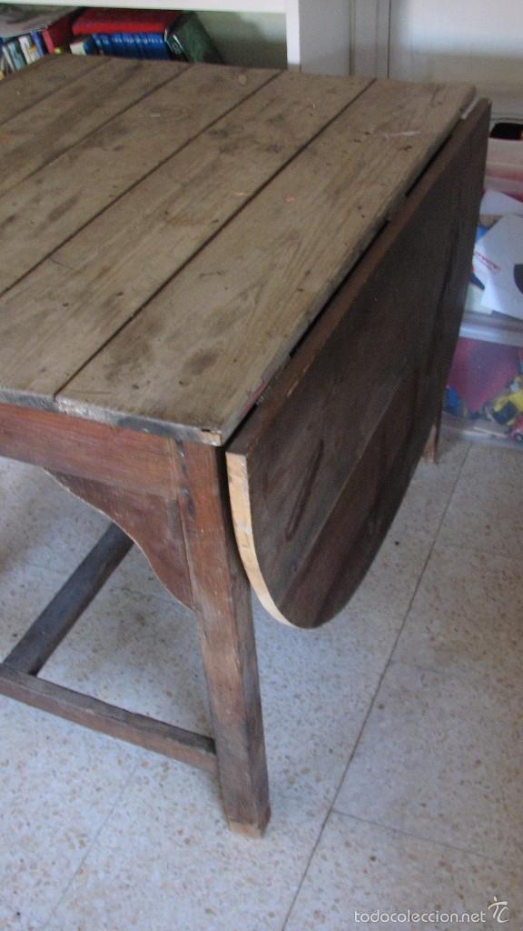 Antigüedades: Mesa rústica. - Foto 3 - 118865331