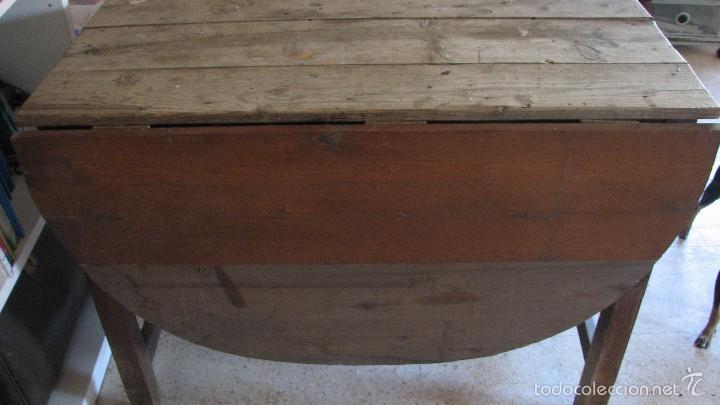 Antigüedades: Mesa rústica. - Foto 4 - 118865331