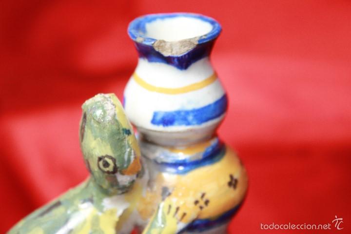 JARRA ANTIGÜA EN CERAMICA DE TRIANA (Antigüedades - Porcelanas y Cerámicas - Triana)