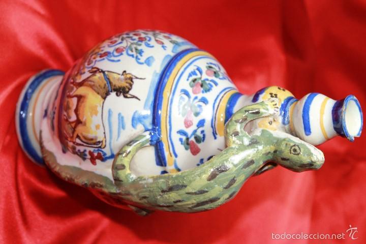 Antigüedades: JARRA ANTIGÜA EN CERAMICA DE TRIANA - Foto 2 - 59694659