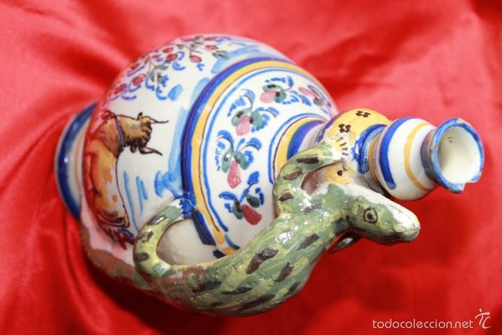 Antigüedades: JARRA ANTIGÜA EN CERAMICA DE TRIANA - Foto 3 - 59694659