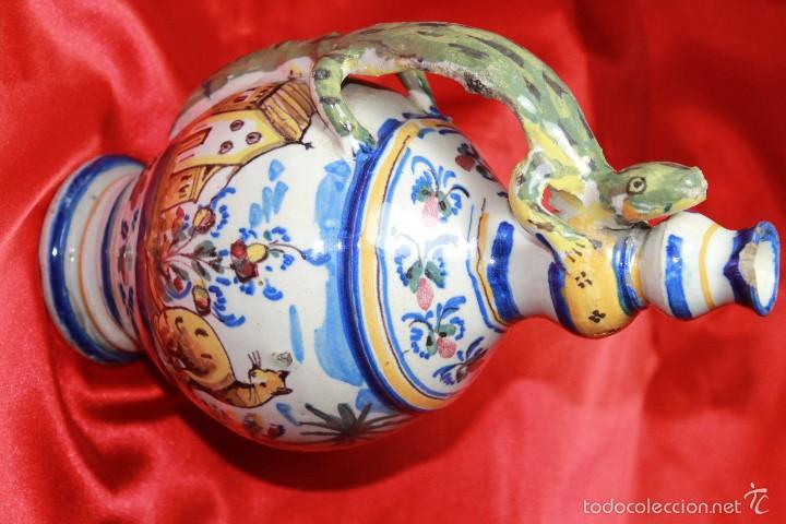 Antigüedades: JARRA ANTIGÜA EN CERAMICA DE TRIANA - Foto 4 - 59694659