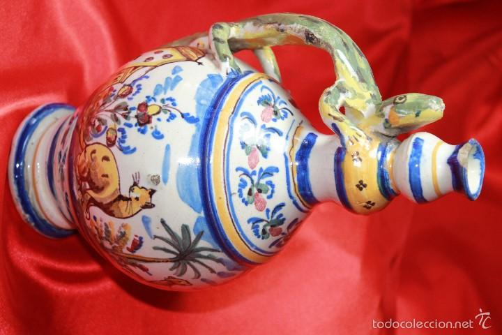 Antigüedades: JARRA ANTIGÜA EN CERAMICA DE TRIANA - Foto 5 - 59694659