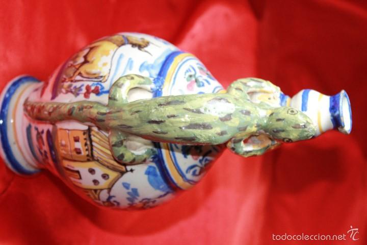 Antigüedades: JARRA ANTIGÜA EN CERAMICA DE TRIANA - Foto 7 - 59694659