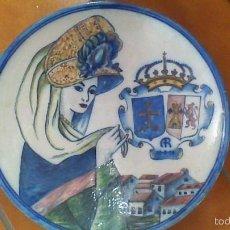 Antigüedades: PLATO DE CERAMICA. 1956. Lote 59696119