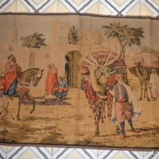 Antigüedades: ANTIGUO TAPIZ ORIENTALISTA - GRAN FORMATO.. Lote 65913321