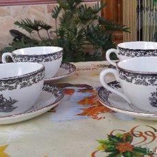 Antigüedades: ANTIGUO JUEGO DE CAFE DE LA CARTUJA. Lote 59716687