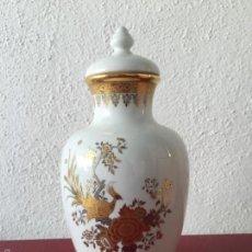Antigüedades: JARRÓN LAURENT'S GOLD 24K.. Lote 59749368