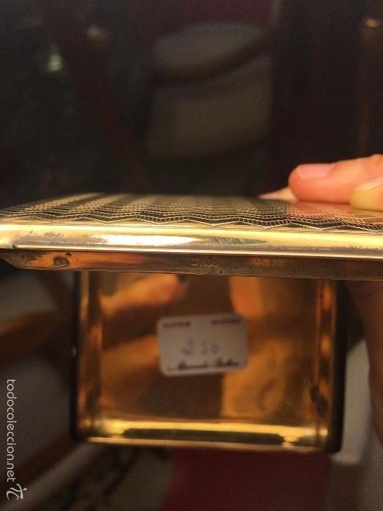 Antigüedades: PITILLERA PLATA dorada - Foto 6 - 59771108