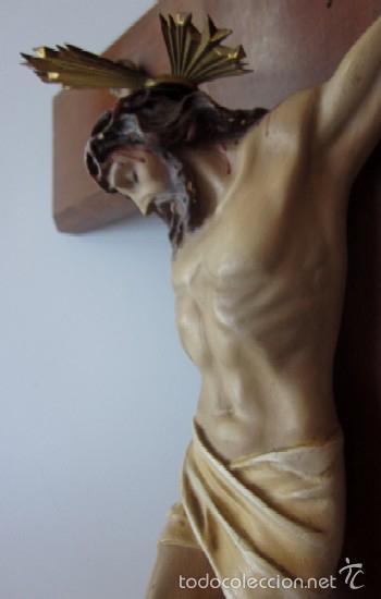Antigüedades: CRUCIFIJO - CRISTO DE TRES CLAVOS - Foto 2 - 166232640