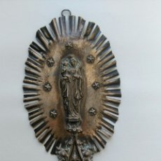 Antigüedades: BENDITERA DE PLATA. Lote 59832176
