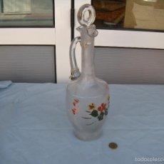 Antigüedades: BOTELLA CON ASA DE SANTA LUCÍA CARTAGENA.. Lote 59875984