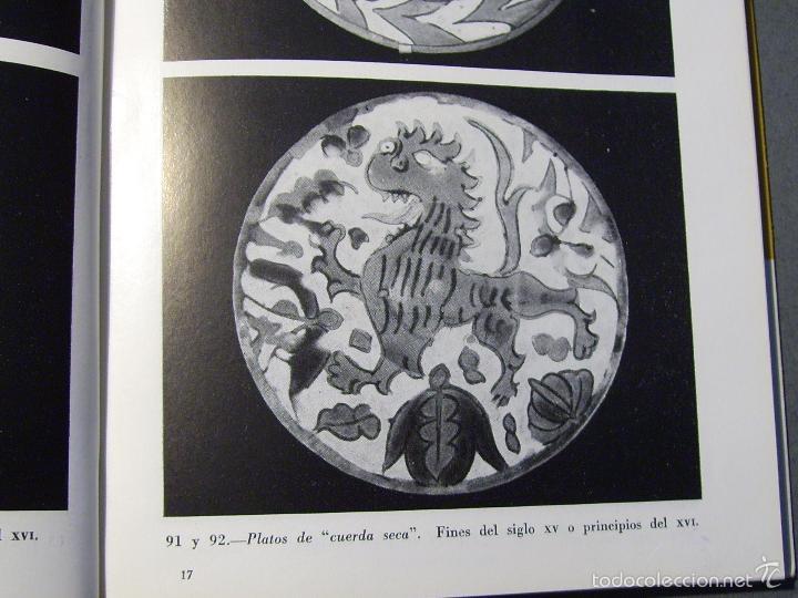 Antigüedades: PLATO CERÁMICA DE CUERDA SECA TRIANA XIX - Foto 10 - 59877527