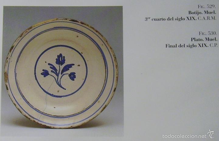 Antigüedades: PLATO CERÁMICA ARAGONESA DE MUEL XIX - Foto 10 - 59879051