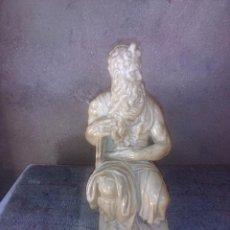 Antigüedades: FIGURA DE MOISES , 25 CM. Lote 59882027
