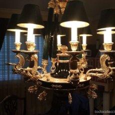 Antigüedades: LAMPARA ESTILO IMPERIO MARINER. Lote 59921339
