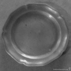 Antigüedades: PLATO DE ESTAÑO. Lote 59936715