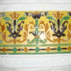 Antigüedades: AZULEJO HIJO JOSE MENSAQUE (TRIANA). Lote 59942499