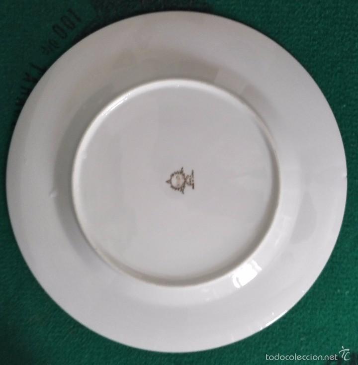 Antigüedades: PLATO DE PORCELANA JAPONESA . EIHo .ceramica 26cm - Foto 3 - 59968151