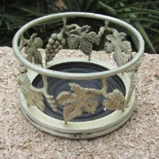 Antigüedades: POSA BOTELLAS FORJADO. Lote 59987063