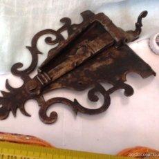 Antiquitäten - CENTENARIA CERRADURA DEL SIGLO XVIII. ESPECTACULAR. FORJA ANTIGUA - 59996411