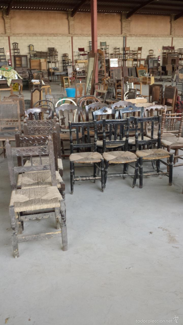 Lote de 200 sillas antiguas para restaurar con comprar - Recuperar muebles antiguos ...