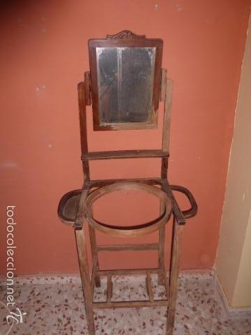 Antiguo palanganero de madera para restaurar comprar - Vendo muebles antiguos para restaurar ...