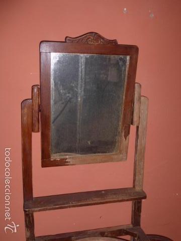 Antiguo palanganero de madera para restaurar comprar for Antiguedades para restaurar