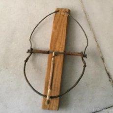 Antigüedades: PAJARERA O TRAMPA PARA PÁJAROS.. Lote 60049311