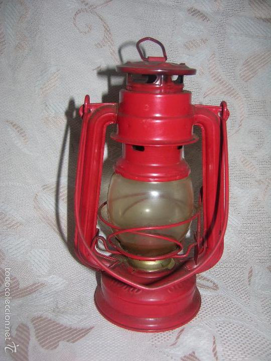 BONITO QUINQUÉ MARCA MEVA 863 MADE CHECOSLOCAQUIA (Antigüedades - Iluminación - Quinqués Antiguos)