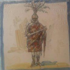 Antigüedades: AZULEJO PINTADO A MANO SEVILLANO. Lote 60080082
