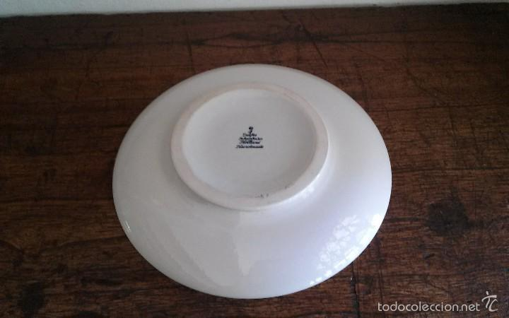Antigüedades: Plato porcelana Delft - Foto 2 - 60101699