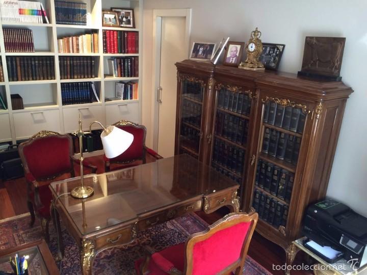 Despacho antiguo completo estilo luis xv mesa comprar mesas de despacho antiguas en - Muebles estilo antiguo ...