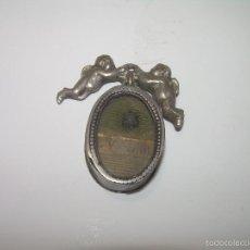 Antigüedades: ANTIGUO RELICARIO DE PLATA.....SAN VICENTE DE PAUL.. Lote 60180779