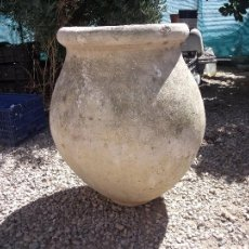 Antigüedades: TINAJA.-CERAMICA.-MEDIDAS DE 70 CM. ALTURA Y 50 CM. DE ANCHO.. Lote 60194467