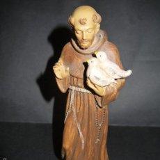 Antigüedades: PRECIOSO SAN FRANCISCO DE ASIS, EN PLASTICO DURO, ITALY.. Lote 60199943