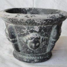 Antigüedades: ANTIGUO MORTERO ALMIREZ CERÁMICA TERRACOTA PROBABLEMENTE QUART.. Lote 60286447