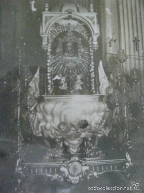 Antigüedades: CURIOSO Y MUY RARO CUADRO RELIGIOSO MUY ANTIGUO ¿CORPUS?. VER FOTOS Y LEER - Foto 4 - 194494547